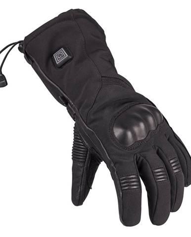 Vyhrievané lyžiarske a moto rukavice Glovii GS7 čierna - L