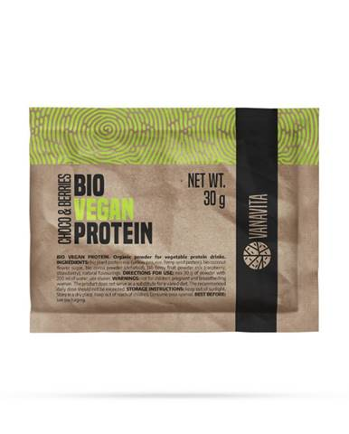 VanaVita Vzorka Bio Vegan Protein 30 g čokoláda & bobule
