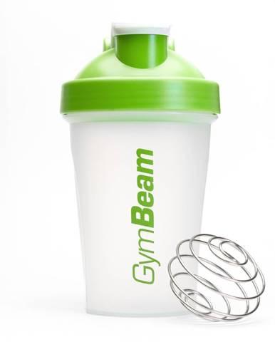 GymBeam Šejker Blend Bottle priesvitno-zelený 400 ml