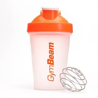GymBeam Šejker Blend Bottle priesvitno-oranžový 400 ml