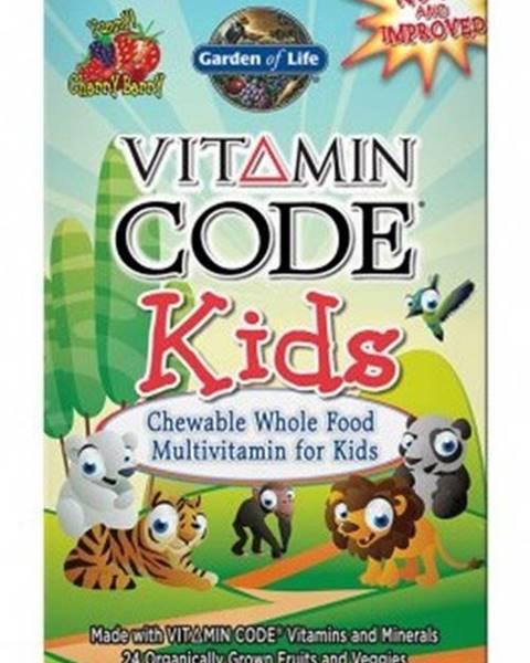 Garden of life Garden Of Life Vitamín Code Kids 60 tabliet