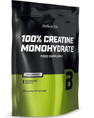 Biotech 100 % Creatine Monohydrate sáčok 500 g