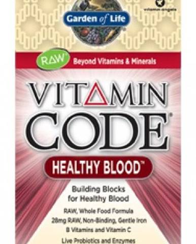 Garden Of Life Vitamín Healthy Blood Raw 60 kapsúl