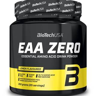 BioTech USA BioTech EAA Zero 350 g variant: citrón