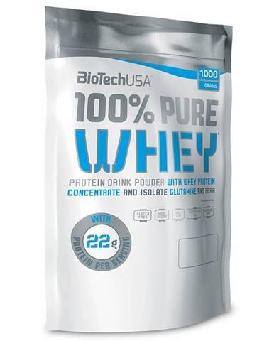 BioTech USA BioTech 100% Pure Whey 1000 g variant: banán