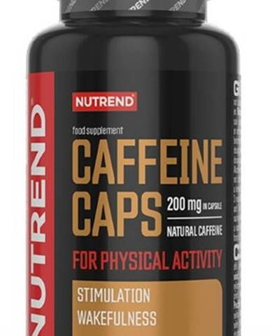 Nutrend Caffeine Caps 60 kapsúl