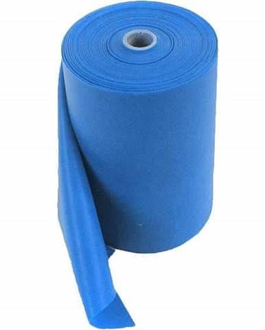Aerobic guma latex metráž 12m x 15 cm - 0,65 cm - Modrá