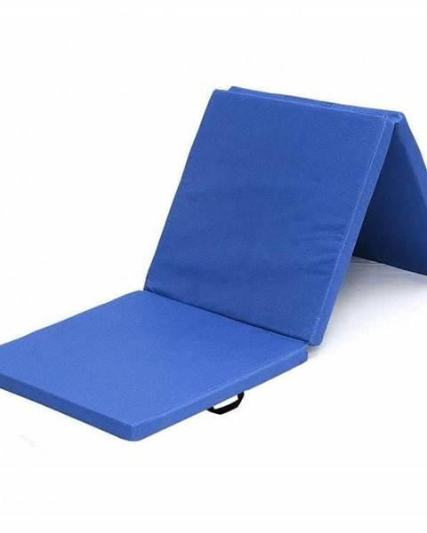 Sedco Žíněnka skládací třídílná SEDCO 180x60x5 cm - Modrá
