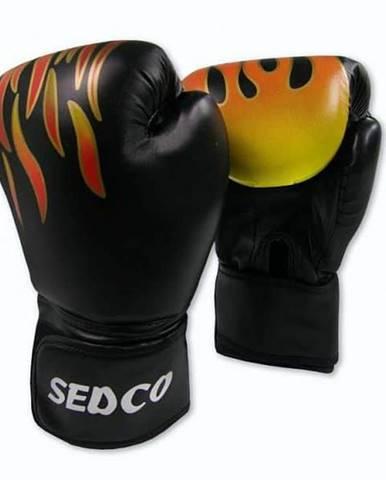 Box rukavice SEDCO TRAINING FIRE 14 OZ - Černá