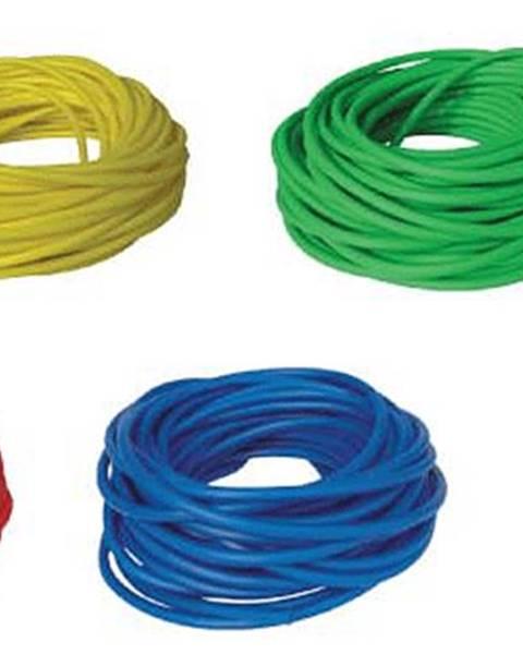 LivePro BAND TUBING - Odporová posilovací guma - LATEX FREE -7,5 m - Žlutá