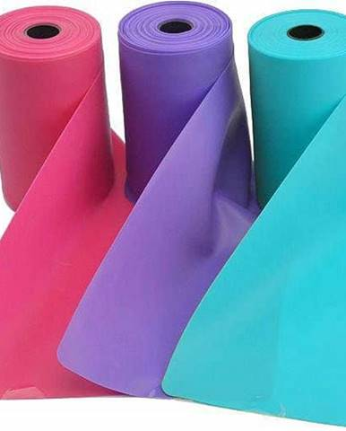 Aerobic guma SEDCO TPE 12m x 15 cm 0,5mm - Růžová