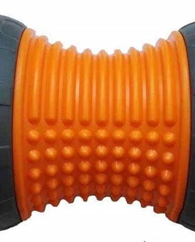 Masážní váleček Sedco FOOT AB WHEEL oranžový - Oranžová