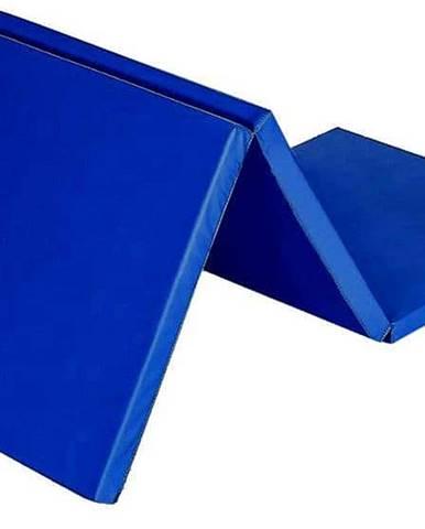 Žíněnka skládací třídílná SEDCO 180x60x3,5 cm - Modrá