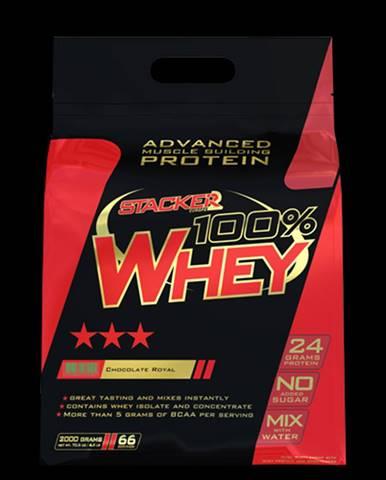Stacker 2 Proteín 100% Whey 2000 g vanilka