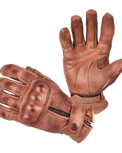 B-STAR MOTO Moto rukavice B-STAR Garibal hnedá - S