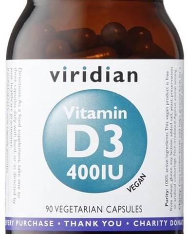 Viridian Vitamín D3 400 IU 90 kapsúl