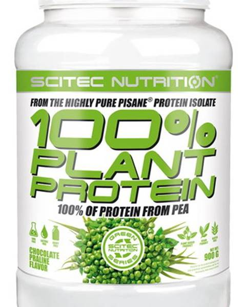Scitec Nutrition Scitec Nutrition Scitec 100% Plant Protein 900 g variant: čokoláda - pralinka