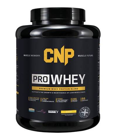 CNP Pro Whey 2000 g variant: banán