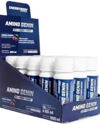 EnergyBody Amino Genin 15×60 ml ampuliek variant: višňa
