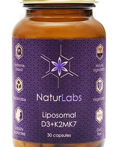 NaturLabs Lipozomálny vitamín D3 + K2 30 kapsúl