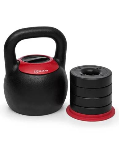 Nastaviteľný kettlebell KLARFIT Adjustabell 8/10/12/14/16 kg