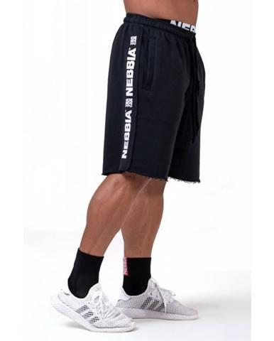 Pánské šortky Nebbia Limitless Essential 177 Black - M