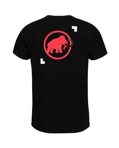 Pánske tričko MAMMUT Logo T-Shirt Men Black - M