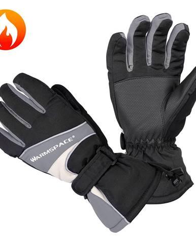 Univerzálne vyhrievané rukavice W-TEC Boubin šedá - XL