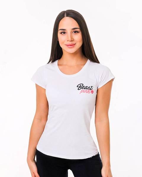 BeastPink Beastpink Dámske tričko Beastpink White  M
