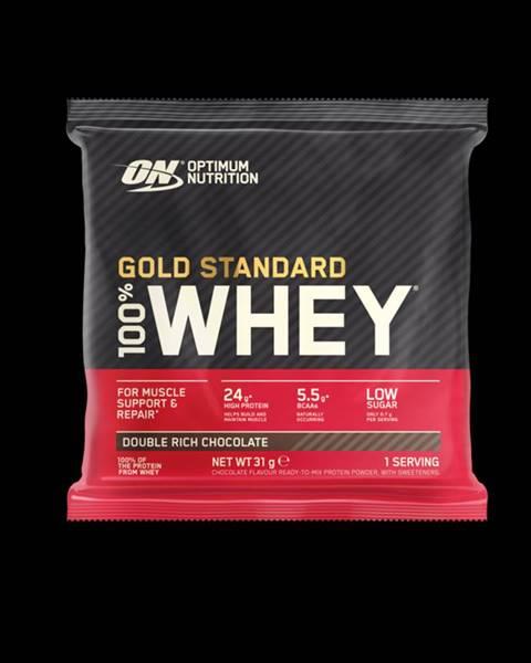 Optimum Nutrition Optimum Nutrition Vzorka 100% Whey Gold Standard 30 g lahodná jahoda
