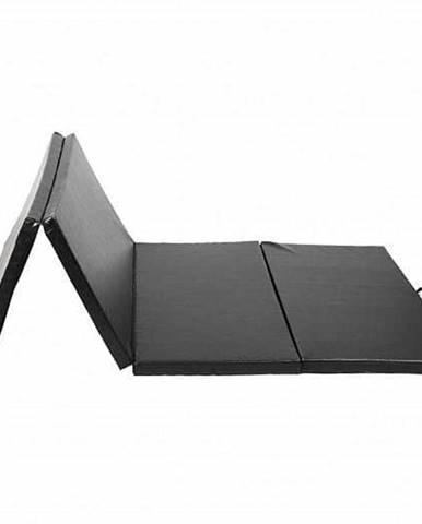 Žíněnka skládací čtyřdílná SEDCO ECO 185x60x3,5 cm - Černá