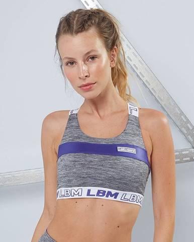 LABELLAMAFIA Športová podprsenka Color Block Heather Gray  L