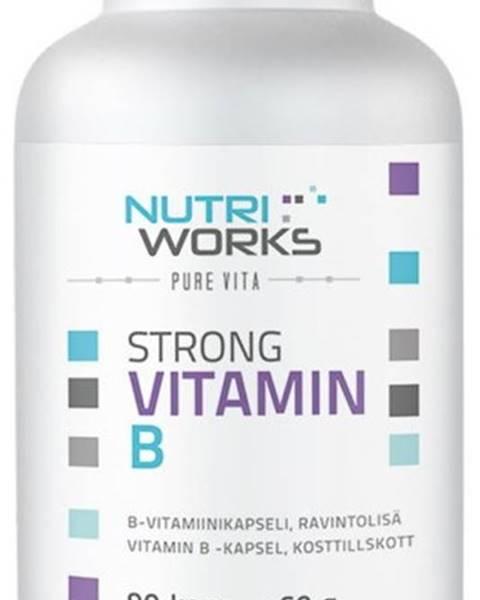 NutriWorks NutriWorks Strong Vitamín B 90 kapsúl