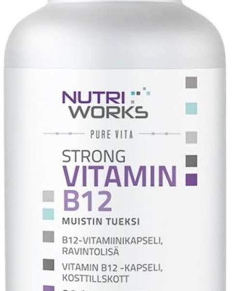 NutriWorks NutriWorks Strong Vitamín B12 90 kapsúl