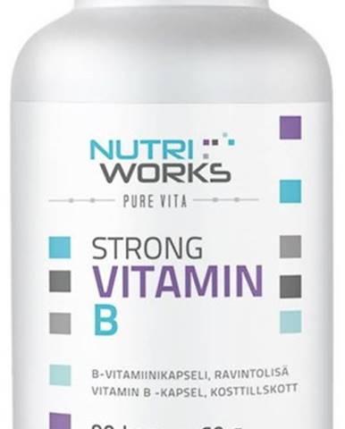 NutriWorks Strong Vitamín B 90 kapsúl