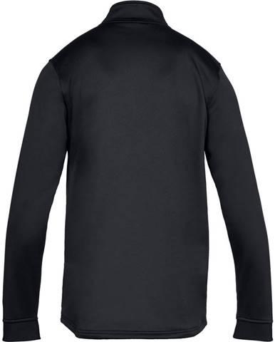 Pánska mikina Under Armour Armour Fleece 1/2 Zip Black/Black - M
