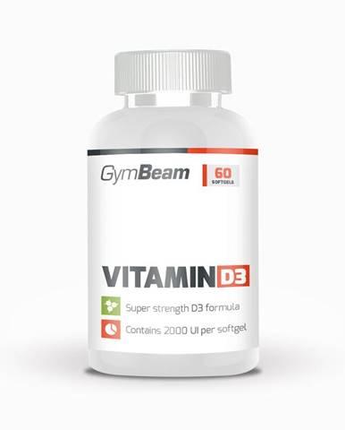 GymBeam Vitamin D3 2000 IU 60 kaps.