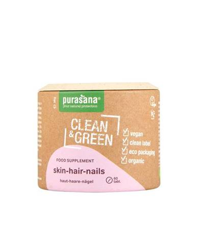 Purasana Skin Hair Nails BIO 60 tab.