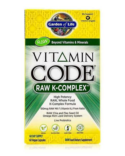 Garden of life Vitamín K - Komplex RAW