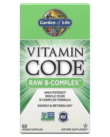 Garden of Life Vitamín B-Komplex - RAW 60 kapslí