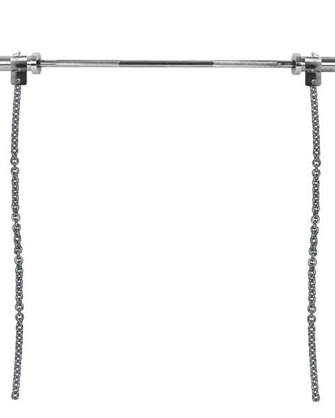Insportline Vzpieračské reťaze s tyčou inSPORTline Chainbos Set 2x15 kg
