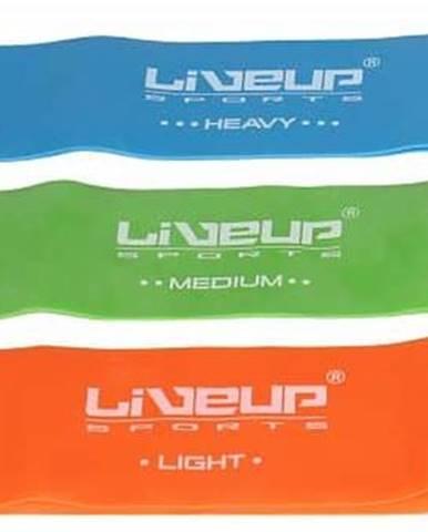 aerobic guma posilovací guma 50x5 cm barva: oranžová;rozměr: L