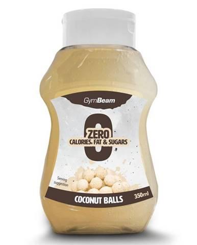 GymBeam Bezkalorický sirup Coconut Balls 350 ml