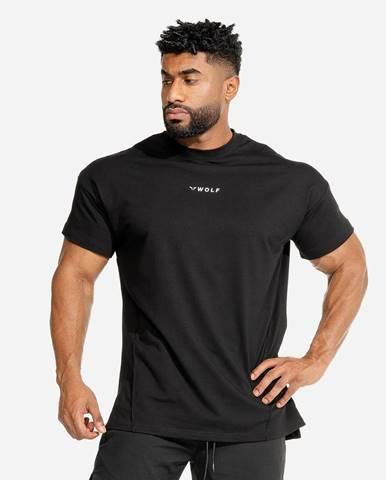 Squat Wolf Tričko Bodybuilding Black  S