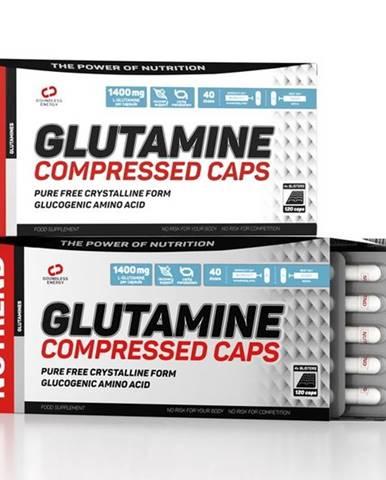 Glutamine Compressed Caps - Nutrend 120 kaps.