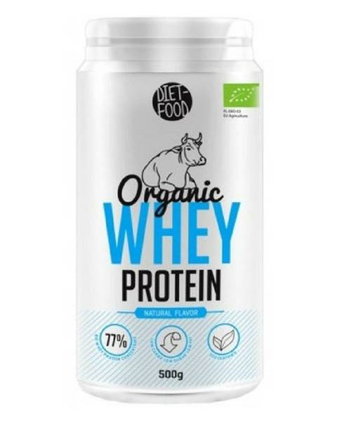 Diet Food Diet Food Organic Whey Protein 500 g prírodná chuť
