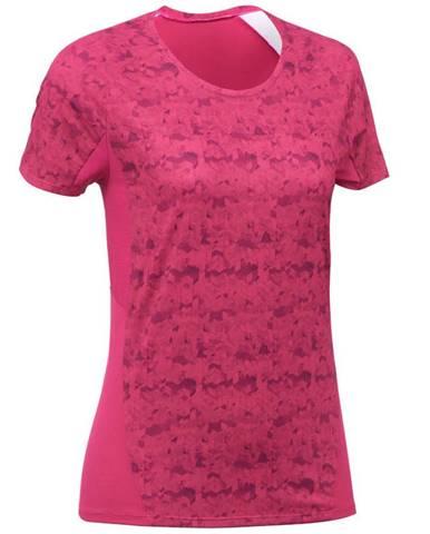 QUECHUA Dámske Tričko Mh500 Ružové