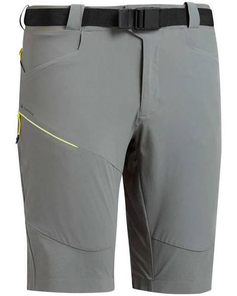 QUECHUA QUECHUA Pánske Dlhé šortky Mh500 Sivé