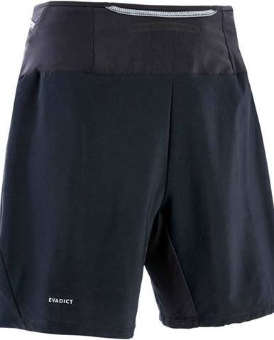 EVADICT Voľné Trailové šortky čierne