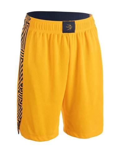 TARMAK Pánske šortky Sh500 žlté